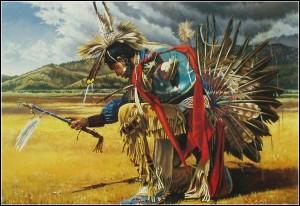 шаман вызывает бурю
