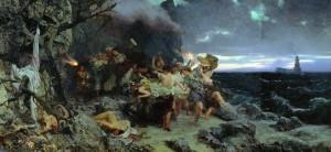 Оргия времён Тиберия на острове Капри