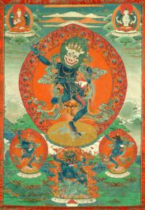 дакиня симхамукха